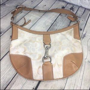 Coach hobo shoulder purse handbag